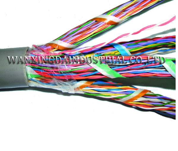 Underground Jelly Filled telephone cable 25 pairs